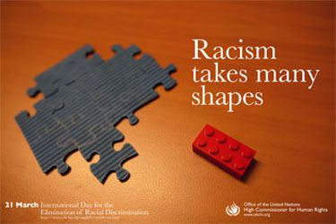 Lego - Racism Takes Many Shapes