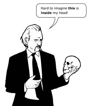 Han Hoogerbrugge: Prostress skull