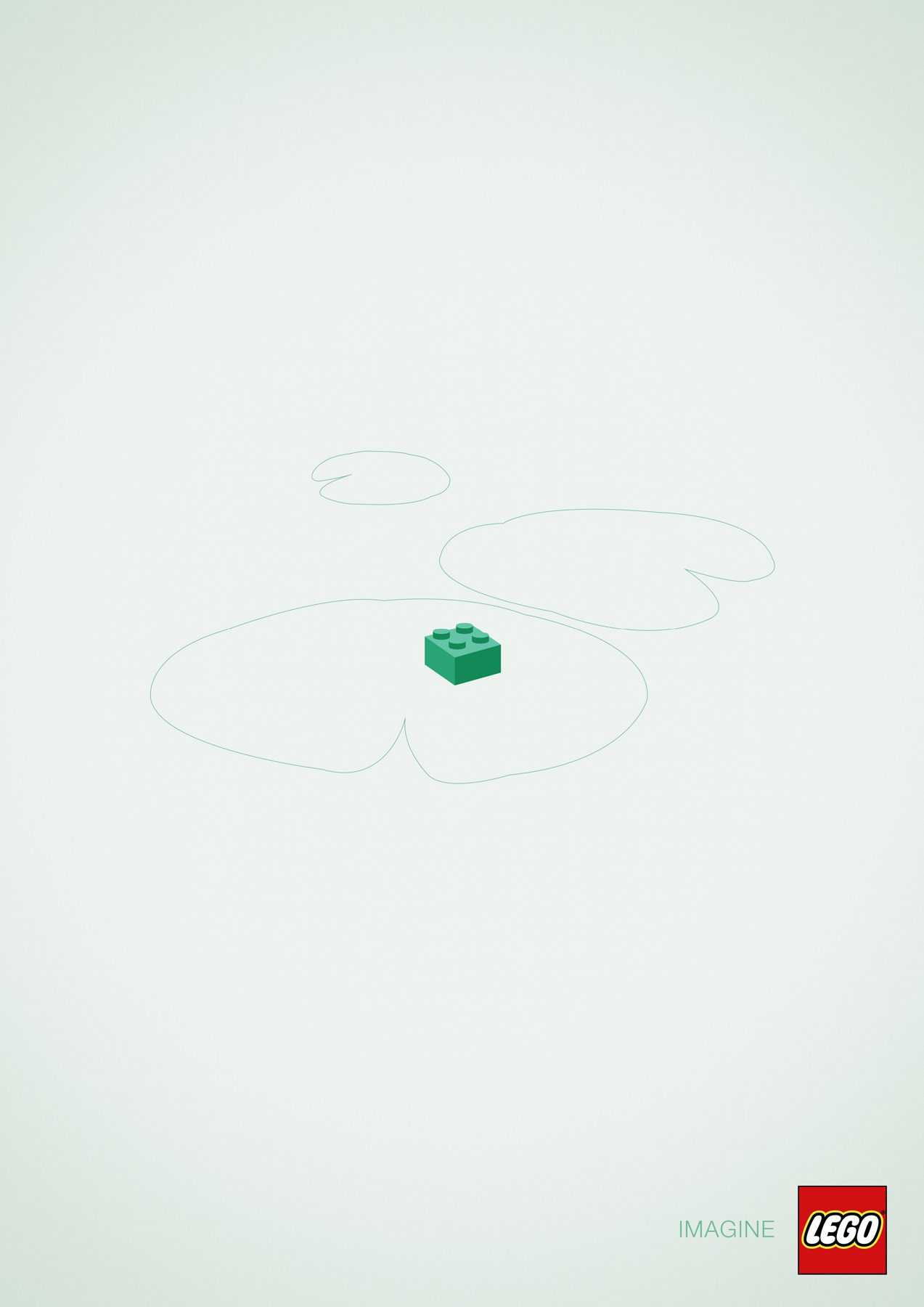 A frog - Lego Imagine