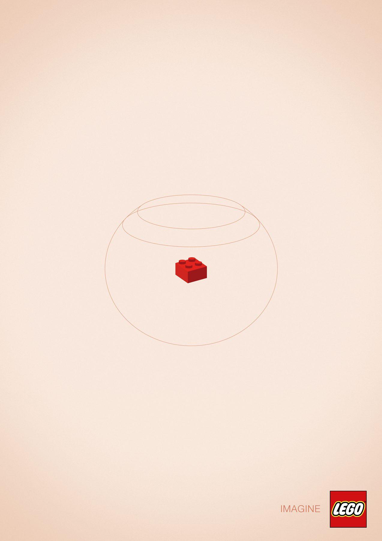 A goldfish - Lego Imagine