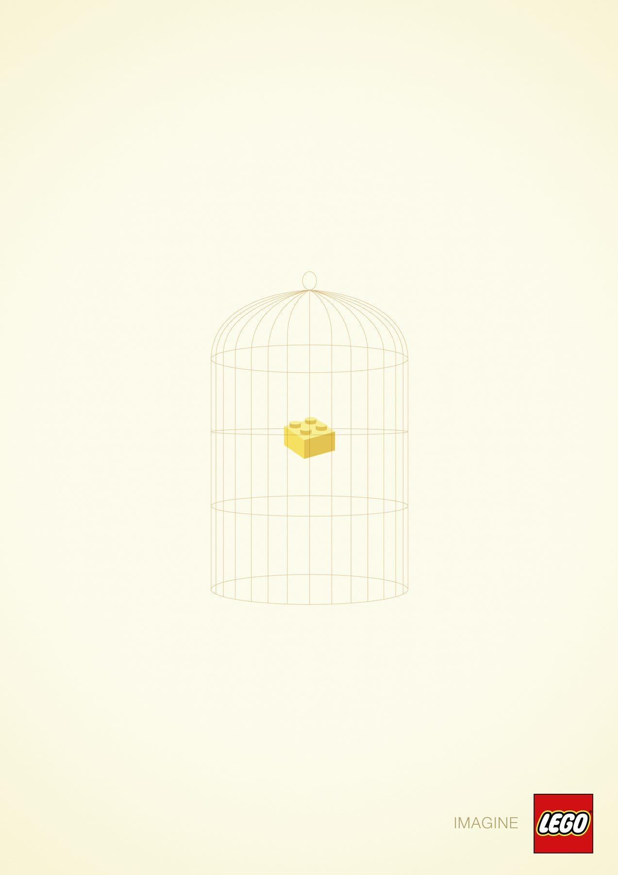 A canary - Lego Imagine