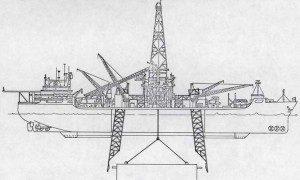 De CIA  liet een boot bouwen waarmee de duikboot opgetakeld kon worden. De poging mislukte.